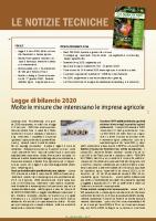 Notizie Tecniche I 2020